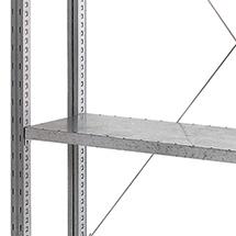 Fachboden für Fachbodenregal Stecksystem. Fachlast 360 kg, Höhe 2 - 3 m