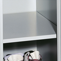 Fachboden für Garderobenschrank Belüftungslochfeld, 300mm