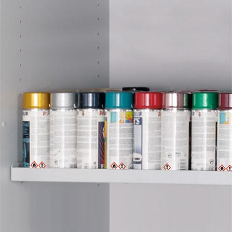 Fachboden für Gefahrenstoffschrank Q-PEGASUS/Typ 90