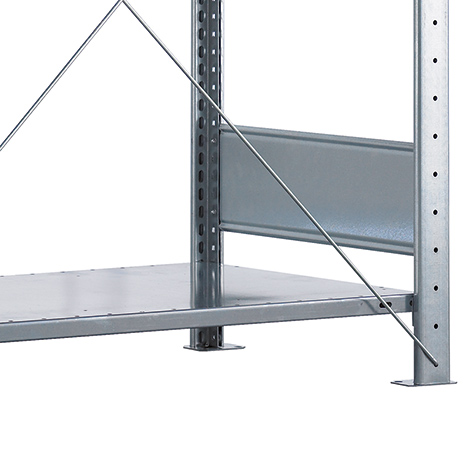 Fachböden, lichtgrau, für Fachbodenregal, Fachlast bis 330 kg