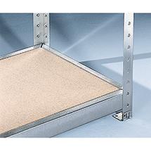 Fachebenen mit Spanplatten für Weitspannregal Stecksystem, Fachlast bis 500 kg