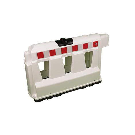 Fahrbahnteiler aus Kunststoff, L x B x H mm: 1000 x 400 x 600