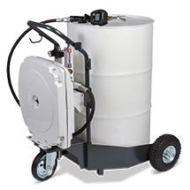 Fahrbare Ölanlage für einfaches und mobiles Abfüllen