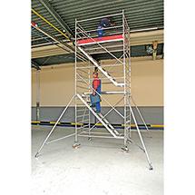 Fahrgerüst KRAUSE ® Professional mit Treppen. Bis 10,5 m Standhöhe