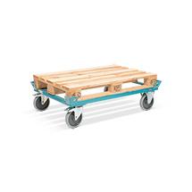 Fahrgestell Ameise® 1270x870x650 Elastik-Vollgummi Bereifung