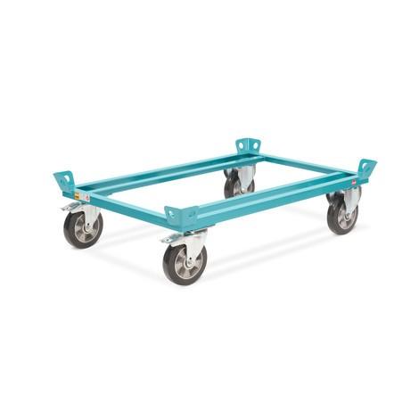 Fahrgestell Ameise®, mit Fangecken, Ladehöhe 280 mm