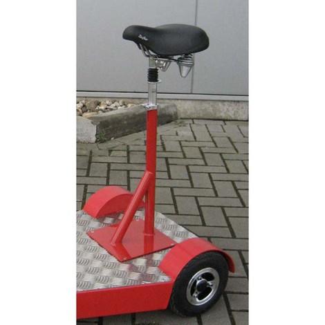 fahrradsattel f r elektro transportroller ameise. Black Bedroom Furniture Sets. Home Design Ideas