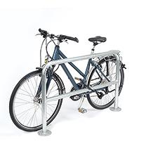 Fahrradständer Anlehnbügel Knierohr. Länge 1000 - 2000 mm