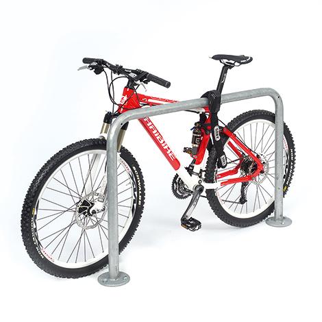 Fahrradständer Anlehnbügel Standard. Länge 1000 - 2000 mm