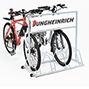 Fahrradständer für Werbefläche. 4 Plätze