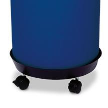 Fahruntersatz für Abfallbehälter mit Einwurfklappe 50 Liter