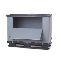Faltbox aus Kunststoff mit Füssen