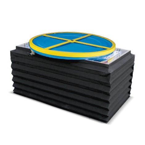 Faltenbalg für Druckluft-Scheren-Hubtisch