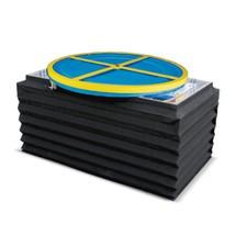 Faltenbalg für Druckluft-Scheren-Palettenpositionierer