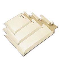 Faltkarton aus einwelliger Wellpappe. Diverse Größen