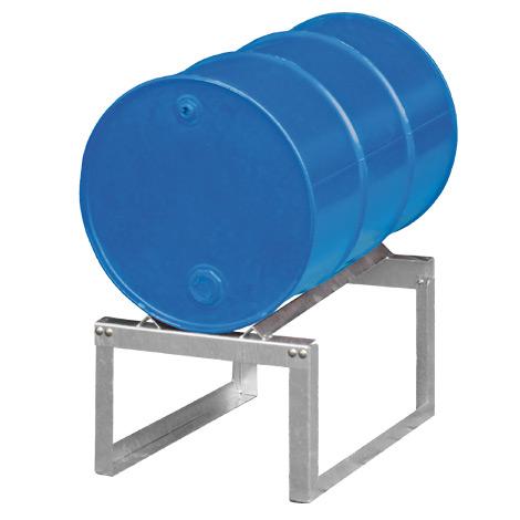 Fassbock mit 1 Fassauflage 200 Liter