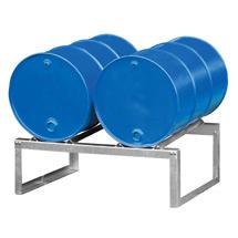Fassbock mit 2 Fassauflagen 200 Liter