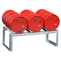 Fassbock mit 3 Fassauflagen 60 Liter