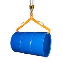 Fassgreifer LG für liegende 200-Liter-Stahl-Spundfässer