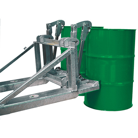 Fassgreifer, Tragkraft 1600kg, lackiert / verzinkt