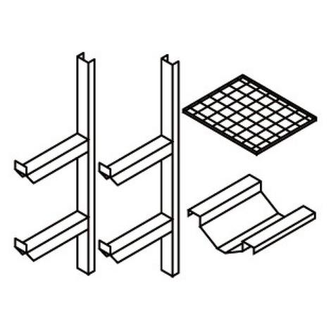Fassregal für Gefahrstoff-Depot aus Stahlblech