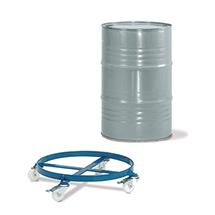 Fassroller fetra® offen, Tragkraft 250kg, Polyamidreifen