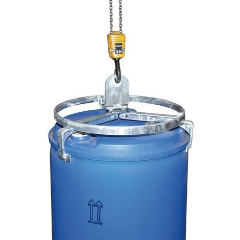 Fasstraverse für stehende Stahl- und Kunststofffässer