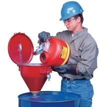 Fasstrichter asecos® aus Stahlblech
