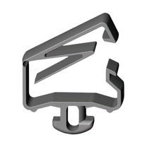 Fastgøringssæt til kabler til et ergonomisk arbejdspladssystem