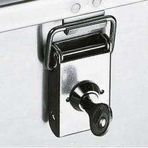 Fechaduras de cilindro para caixas de transporte de alumínio Profi