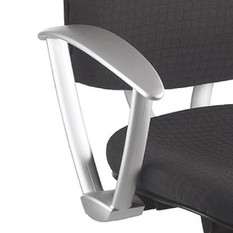 Feste Armlehnen für Bürodrehstuhl mit/ohne Kopfstütze