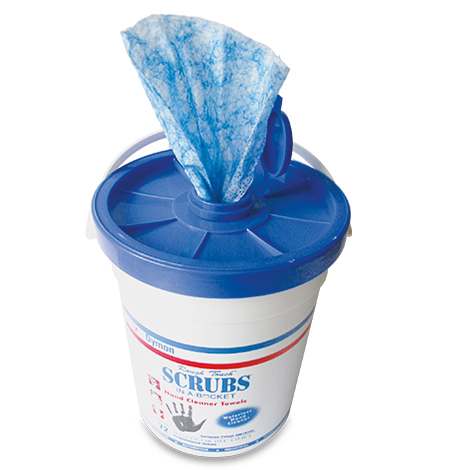 Feuchtigkeitstücher SCRUBS® IN-A-BUCKET®
