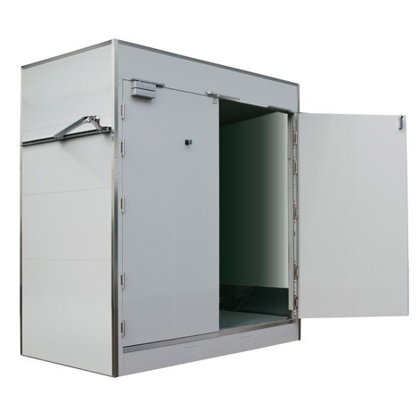 Feuerbeständiger Container für IBC