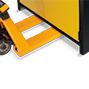 Feuerbeständiger Industriegefahrstoffschrank Q-PEGASUS/Typ 90, 1Tür, 3Böden