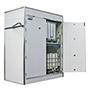 Feuerbeständiger Regalcontainer F90. Bis zu 6 IBC/16 200 l-Fässer