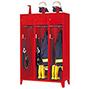 Feuerwehrschrank mit Füßen. 2 bis 4 Abteile