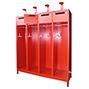 Feuerwehrschrank mit Untergestell. 2 bis 4 Abteile