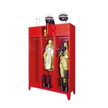 Feuerwehrschrank PAVOY mit Füssen + Einwurfschlitz