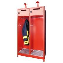 Feuerwehrschrank PAVOY mit Niveauausgleich + Etikettenrahmen