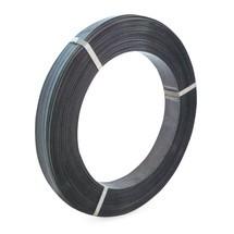 Feuillard de cerclage en acier, peint en noir