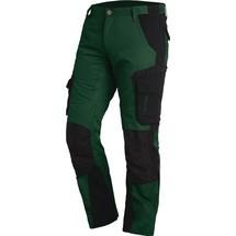 FHB® Arbeitshose FLORIAN, grün/schwarz