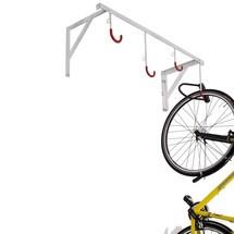 Fietsenrekken met ophanghaken. Voor wand- of plafondmontage