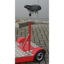 Fietszadel voor elektrische transportstep Ameise®