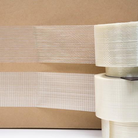 Filament-Klebeband, längs verstärkt