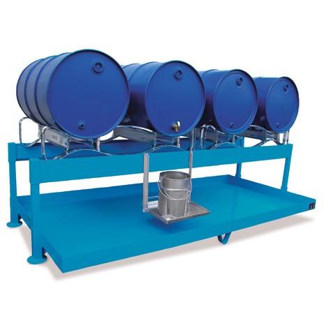 Filling station for 200-litre drums