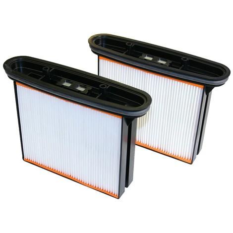 Filter voor industriële stofzuiger stramix, stofklasse H, 2 st./VE