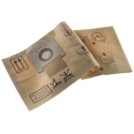 Filtersäcke für Nass-/Trocken-Grobschmutzsauger, 70 Liter