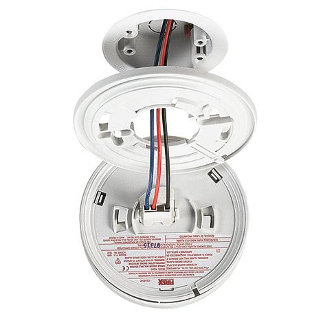 FIREX Rauchmelder für Netzbetrieb, mit Langzeitbatterie