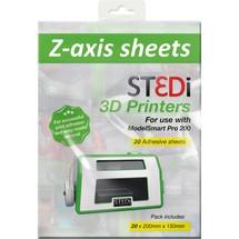 Fixier-Beschichtungspapier ST3Di Z-Axis Sheets für 3D Drucker