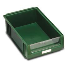 Förvaringslådor med öppen front av polypropen